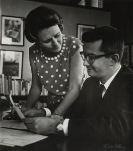 Haydée Santamaría Cuadrado; Armando Hart Dávalos, by Ida Kar - NPG x132318