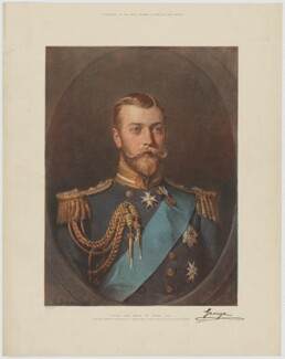King George V, published by The Graphic, after  Luke Fildes - NPG D34015