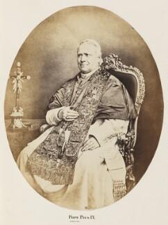 Pope Pius IX (Giovanni Maria Mastai-Ferretti), by Unknown photographer - NPG Ax7268