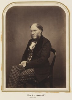 Sir Archibald Alison, 1st Bt, by Maull & Polyblank, published March 1858 - NPG Ax7277 - © National Portrait Gallery, London