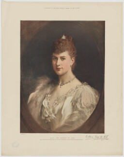 Queen Mary, published by The Graphic, after  Luke Fildes - NPG D34065