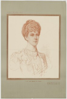 Queen Mary, published by The Graphic, after  John Seymour Lucas - NPG D34066
