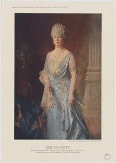 Queen Mary, published by Illustrated London News, after  Arthur Trevithan Nowell - NPG D34067