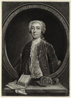 Gioacchino Conti ('Gizziello'), by Alexander van Aken, after  Charles Lucy - NPG D34077