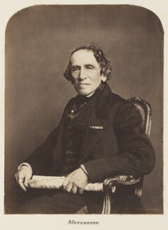 Giacomo Meyerbeer (né Jakob Liebmann Meyer Beer), by Unknown photographer - NPG Ax7288