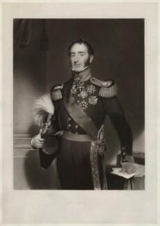 Sir John Conroy, by Henry Thomas Ryall, after  Henry William Pickersgill - NPG D34078