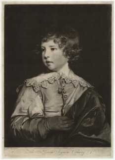Lord George Seymour Conway, by Edward Fisher, after  Sir Joshua Reynolds - NPG D34079