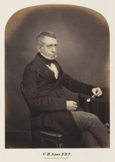 Sir George Biddell Airy, probably by Maull & Polyblank - NPG Ax7296