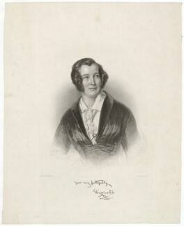 Eliza Cook, by Henry Adlard, after  Wilhelm Trautschold - NPG D34086