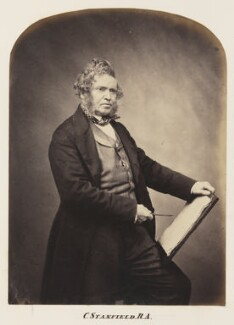 Clarkson Frederick Stanfield, by Maull & Polyblank - NPG Ax7303