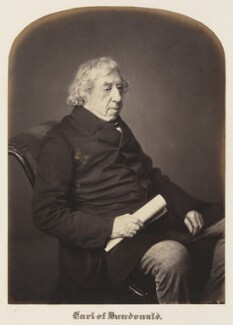 Thomas Cochrane, 10th Earl of Dundonald, by Maull & Polyblank - NPG Ax7304