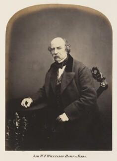Sir William Fenwick Williams, 1st Bt, by Maull & Polyblank - NPG Ax7306