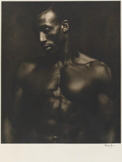 Linford Christie, by Alistair Morrison - NPG x77035