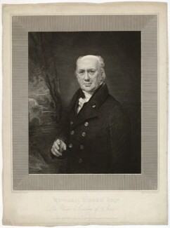 Edward Cooke, by John Burnet, after  George Sanders (Saunders) - NPG D34088