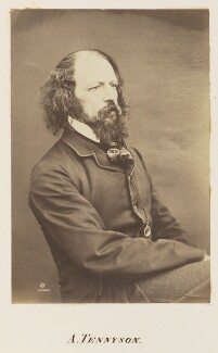 Alfred, Lord Tennyson, by William Jeffrey - NPG Ax7313