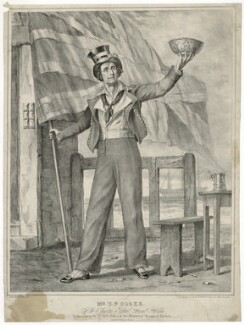 Thomas Potter Cooke as Jack Sykes in Edward Fitzball's 'Nelson', by Nathaniel Whittock, after  Thomas Charles Wageman - NPG D34098