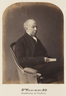 Richard Whately, probably by Maull & Polyblank - NPG Ax7315