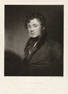 Thomas Simpson Cooke, by Thomas Goff Lupton, after  George Clint - NPG D34101