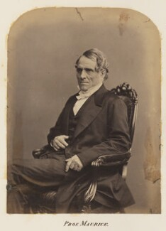 (John) Frederick Denison Maurice, probably by Maull & Polyblank - NPG Ax7324