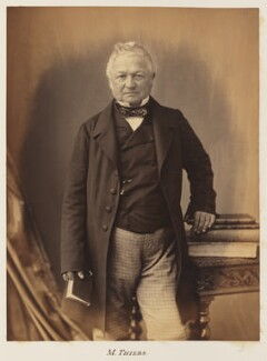 Louis Adolphe Thiers, by Nadar - NPG Ax7331