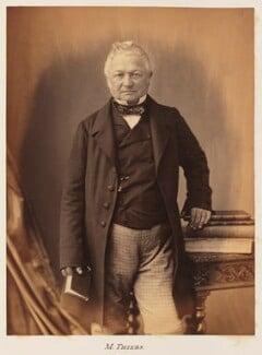 Louis Adolphe Thiers, by Nadar - NPG Ax7331