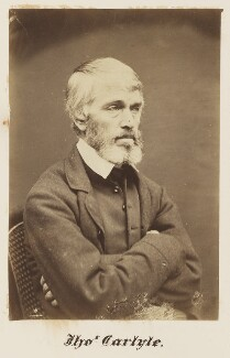 Thomas Carlyle, by William Jeffrey - NPG Ax7336