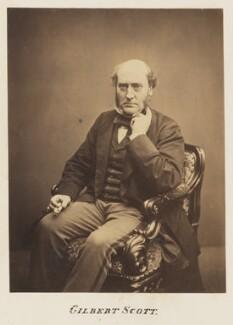 Sir George Gilbert Scott Sr, by John & Charles Watkins - NPG Ax7340