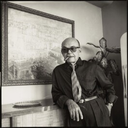 Eduardo Abela, by Ida Kar, 1964 - NPG x132343 - © National Portrait Gallery, London