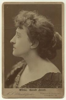 Sarah Grand (Frances Elizabeth Bellenden McFall, née Clarke), by Hayman Seleg Mendelssohn - NPG x36119