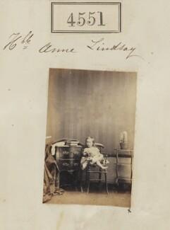 Lady Anne Catherine Sybil Bowes-Lyon (née Lindsay), by Camille Silvy - NPG Ax54563