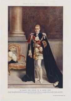 Prince Edward, Duke of Windsor (King Edward VIII), published by Illustrated London News, after  Albert Henry Collings - NPG D34120