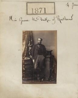 Charles Cecil John Manners, 6th Duke of Rutland, by Camille Silvy - NPG Ax51261