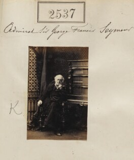 Sir George Francis Seymour, by Camille Silvy - NPG Ax51926