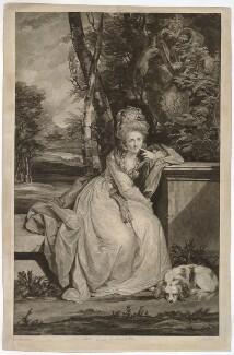 Mary Boyle (née Monckton), Countess of Cork and Orrery, by Johann Jacobé, after  Sir Joshua Reynolds - NPG D34130