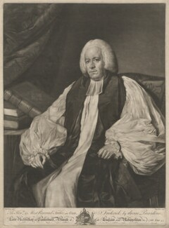 Frederick Cornwallis, by Edward Fisher, after  Nathaniel Dance (later Sir Nathaniel Holland, Bt) - NPG D34133