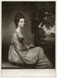 Jemima Tulikens Cornwallis (née Jones), Marchioness Cornwallis, by James Watson, after  Sir Joshua Reynolds - NPG D34134