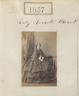 Lady Henrietta Louisa Priscilla Morant (née Somerset), by Camille Silvy - NPG Ax51247
