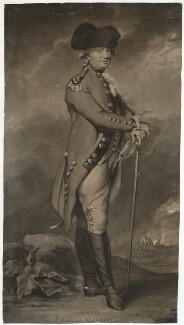 Charles Cornwallis, 1st Marquess Cornwallis, by John Jones, after  Daniel Gardner - NPG D34143