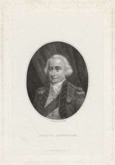 Charles Cornwallis, 1st Marquess Cornwallis, by G. Gabrielli, 1875 - NPG D34145 - © National Portrait Gallery, London