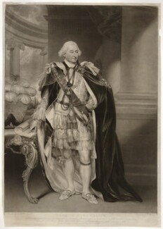 Charles Cornwallis, 1st Marquess Cornwallis, by James Ward, published by  Antonio Poggi, after  Sir William Beechey, published 1799 - NPG D34146 - © National Portrait Gallery, London