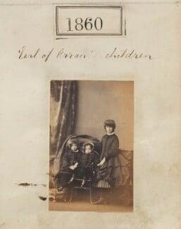 'Earl of Arran's children', by Camille Silvy, 29 December 1860 - NPG Ax51250 - © National Portrait Gallery, London