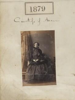 Elizabeth Marianne (née Napier), Countess of Arran, by Camille Silvy - NPG Ax51271