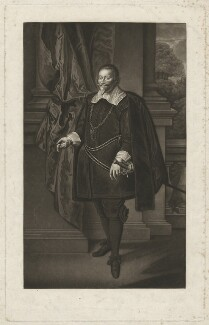 Francis Cottington, 1st Baron Cottington, by Robert Dunkarton, after  Paul van Somer - NPG D34157
