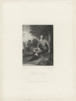 Fictitious portrait of Charles Cotton, by William Humphrys, after  James Inskipp - NPG D34160