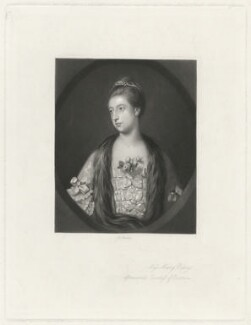 Mary (née Powys), Countess of Courtown, by Arthur N. Sanders, after  Sir Joshua Reynolds - NPG D34170