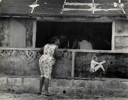 'At the bar in Cojímar', by Ida Kar - NPG x132358