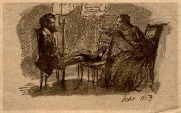 Dante Gabriel Rossetti; Elizabeth Eleanor Rossetti (née Siddal), after Dante Gabriel Rossetti - NPG D9348