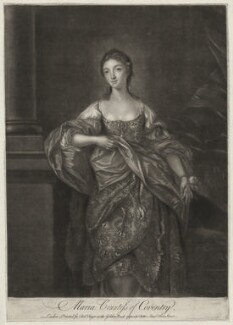 Maria (née Gunning), Countess of Coventry, by James Macardell, after  Gavin Hamilton - NPG D34179