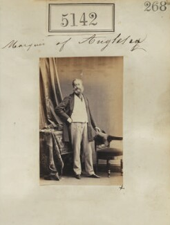 Henry Paget, 2nd Marquess of Anglesey, by Camille Silvy, 23 July 1861 - NPG Ax55145 - © National Portrait Gallery, London