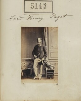 Henry Paget, 4th Marquess of Anglesey, by Camille Silvy, 23 July 1861 - NPG Ax55146 - © National Portrait Gallery, London